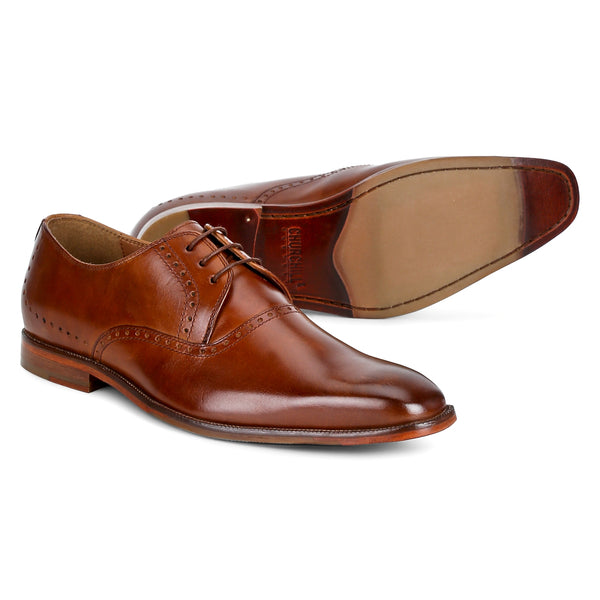Ferry : Tan Lace Up Derby