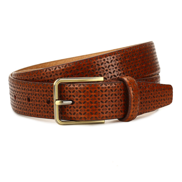 Spruce: Tan Textured Belt