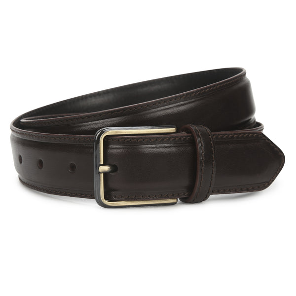 Ed: Coffee Brown Casual Belt
