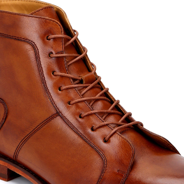 Iceman: Tan Work Boot
