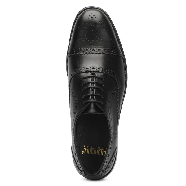 Black Oxford shoes