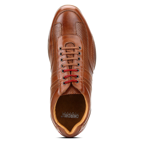 Churchill shoes: Casual leather shoe