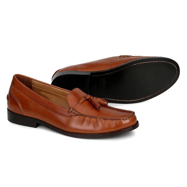 Hatton: Tan Loafer