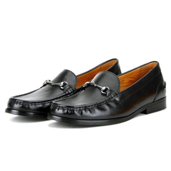 Huffton: Black Classic Loafer