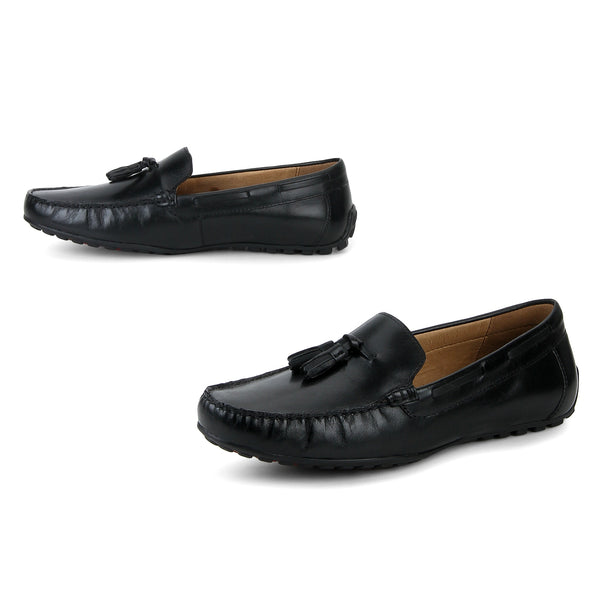 Raft : Black Tasselled Moccasin