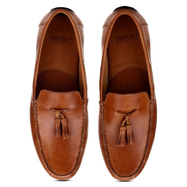 Raft : Tan Tasselled Moccasin