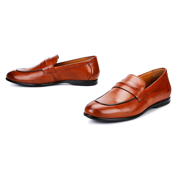 Astor: Tan Slip-On Loafer