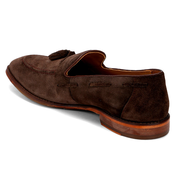 Ivy: Brown Tasselled Loafer