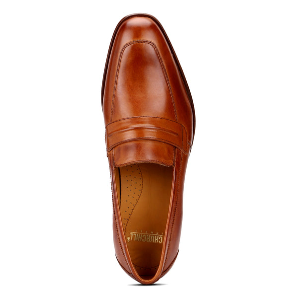Bryan: Tan Saddle Loafer