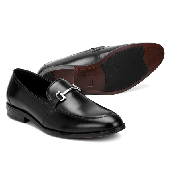 Cobb: Black Bit Loafer