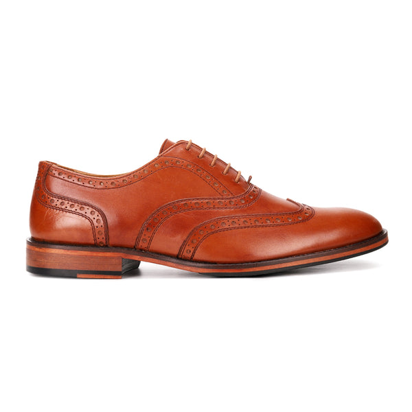Barry: Tan Wingtip Oxford