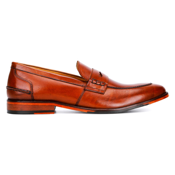 Polo: Tan Penny Loafer