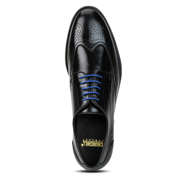 Black Wingtip Brogue | buy shoes online