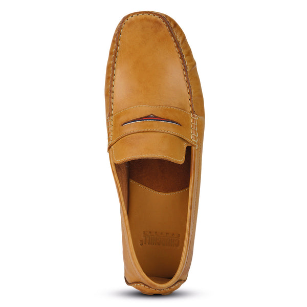 Beech: Light Tan Loafer