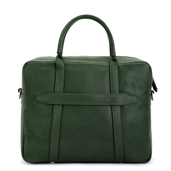 Soho : Forest Green Laptop Bag