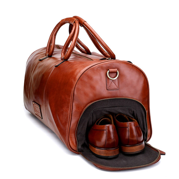 Aviator : Tan Weekend Bag