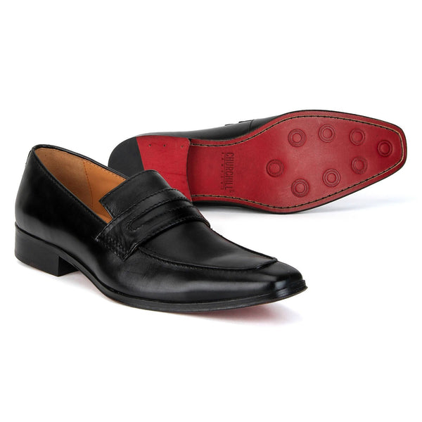 Edison: Black Slip-On