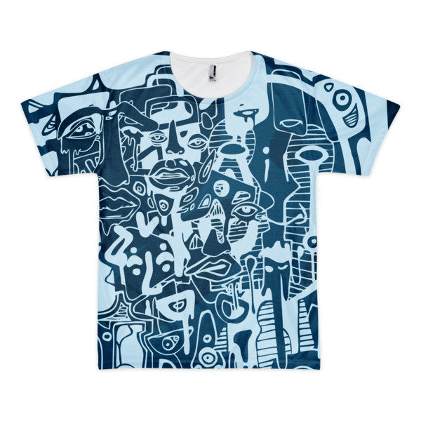 FULL MELT (by MOGELY) Short sleeve t-shirt (unisex)