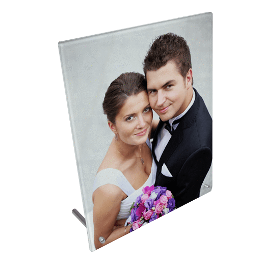 "8"" x 10""  Toughened Glass Frame"