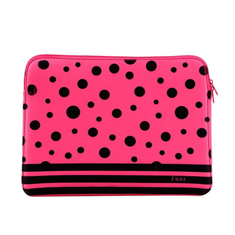 "14"" Neoprene Laptop Sleeve Neon Pink"