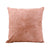 Polyester PU Cushion Cover Pink 40 x 40