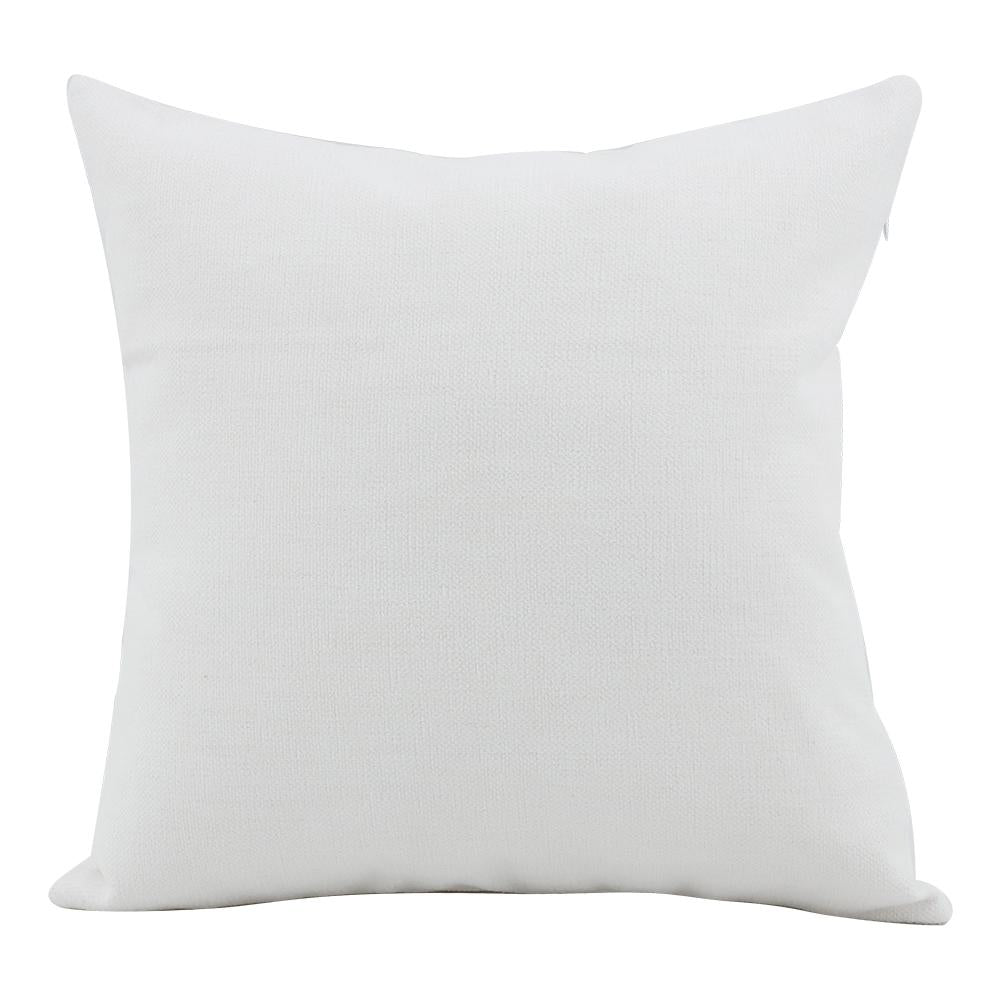 Linen Cushion Cover White 45 x 45 sublimation blanks