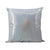 Rainbow Silver Glitter Cushion Cover - 40 x 40