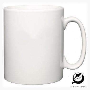 36 x 10oz Orca coated Durham Style Mugs