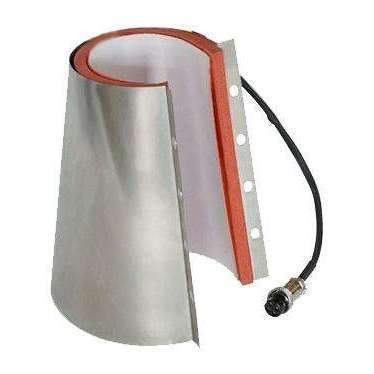 Sublimation blank 17oz Latte Heating Element for Galaxy Mug press - V2