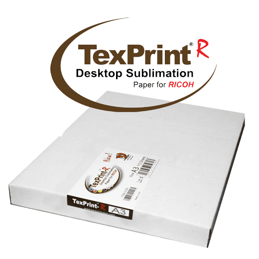 A3 TexPrint R® Desktop Sublimation Paper for Ricoh (Pack of 110 Sheets)