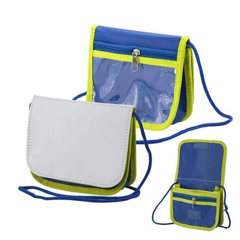 Sling bag - Blue and Green
