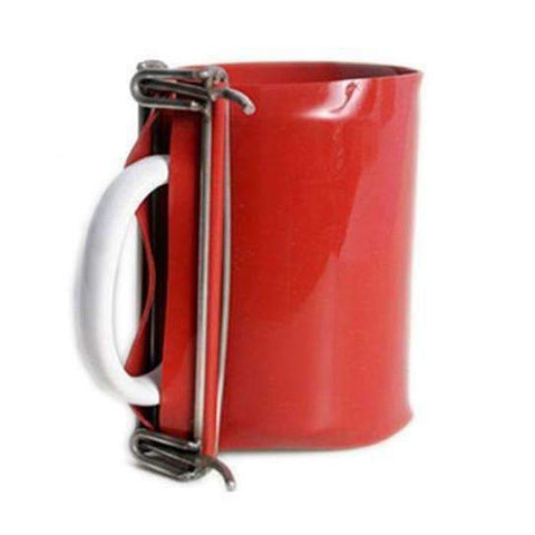 Sublimation blank 10/11oz Red Mug Clamp