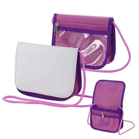 Sling bag - Pink and Purple