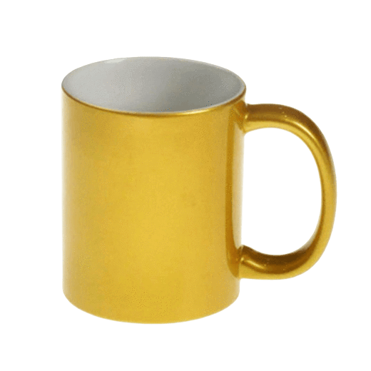 Single 10oz Gold Mug Includes mug box