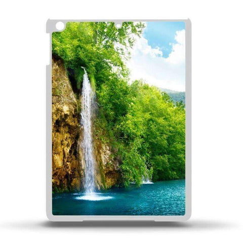 iPad Air Plastic Case - White
