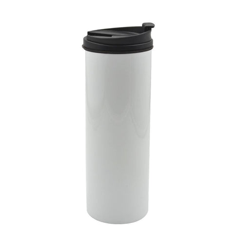 500ml straight sublimation mug white