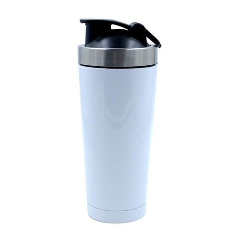 500ml sublimation blank shaker gym bottle