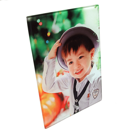 5 x 7 Toughened Glass Frame  Portrait sublimation blanks
