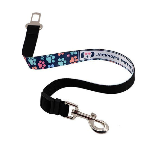 sublimation blank pet seat belt