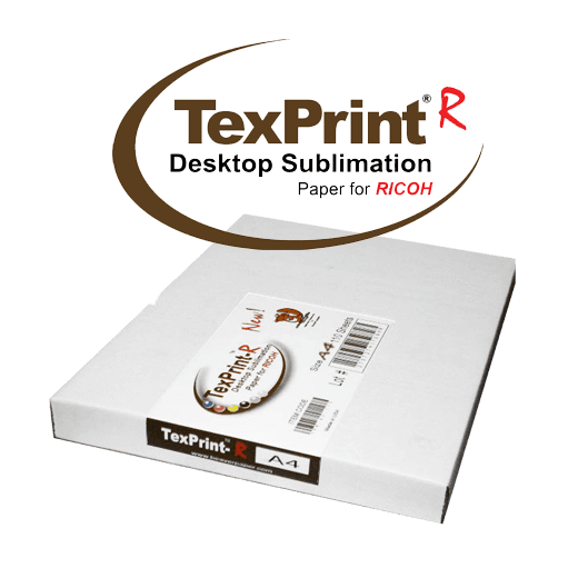 A4 TexPrint R® Desktop Sublimation Paper for Ricoh (Pack of 110 Sheets)