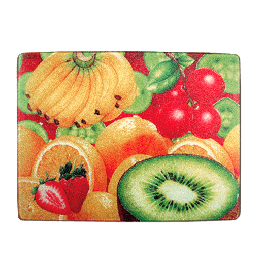 8 x 11 Toughened Glass Chopping Board  Chinchilla  Small sublimation blanks