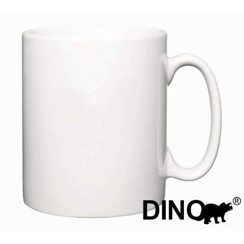 36 x 10oz Dino Sublimation Durham Style Mugs