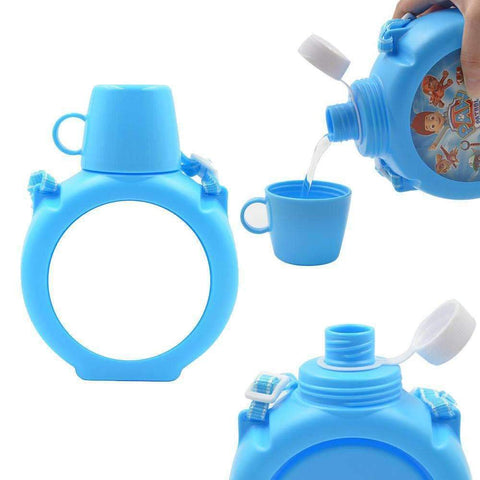 Kids polymer water bottle - Blue