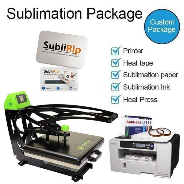 Dino Heat Press DP90 15 x 15 Auto Slide - Starter Kit
