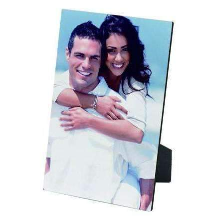 Dino MDF Photo Panel  5 x 7 with easel sublimation blanks