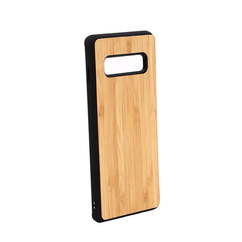 Galaxy S10 Plus Sublimation blank bamboo phone case