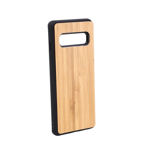 Galaxy S10 Sublimation blank bamboo phone case