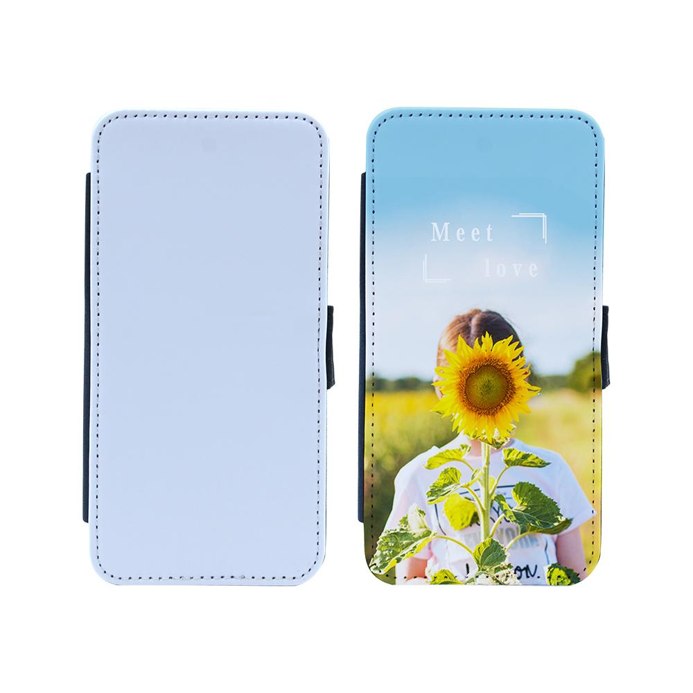 Galaxy S10e pu sublimation blank leather flip case
