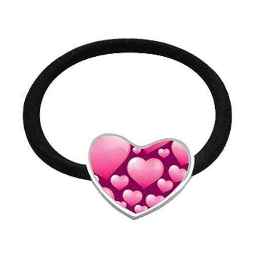Hair Bobble Heart sublimation blanks