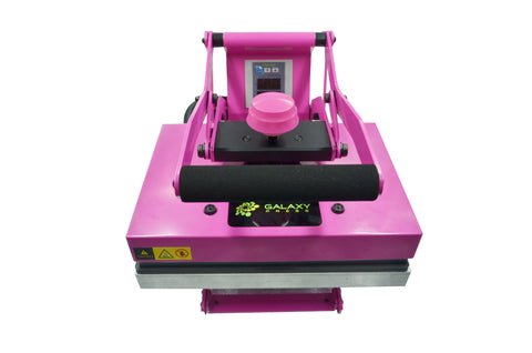 sublimation dino hobby press pink